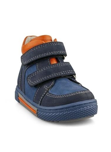 Cici Bebe Ayakkabı Nubuk Erkek Çocuk Bot Oranj